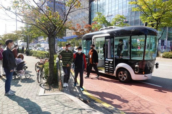[Pangyo Tech] Gyeonggi-do looks for self-driving technology-based passenger transport services operators in Pangyo